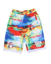 Parish - Tie Dye Mesh Basketball Shorts (8-20)-2627464