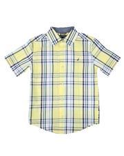 Nautica - Plaid Button Down Shirt (8-20)-2627499