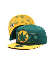 Hats - Marijuana Snapback Hat-2624950