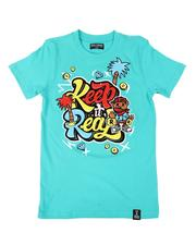 Rebel Minds - Keep It Real Graphic Tee (8-20)-2628300