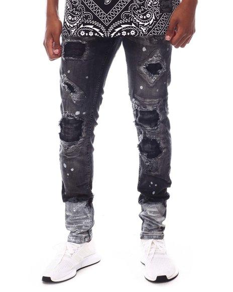 Copper Rivet - Rip & repair Gradient Pants