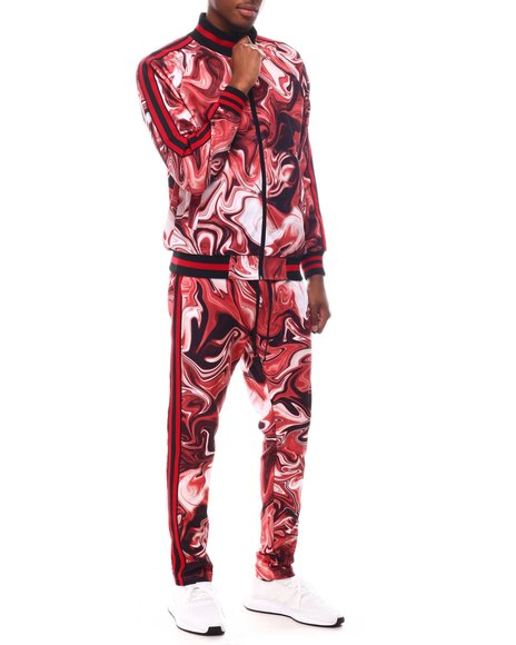 Buyers Picks - Marble Track Suit Set