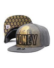 Hats - Money Snapback Hat-2624982