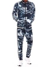 Buyers Picks - Marble Track Suit Set-2629061