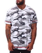 Ecko - Wrap & Roll V-Neck T-Shirt (B&T)-2629793