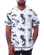 Ecko - Wrap & Roll V-Neck T-Shirt (B&T)-2629803