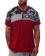 Ecko - Camoscope V-Neck T-Shirt (B&T)-2629738