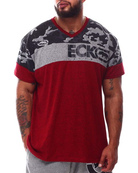 Ecko - Camoscope V-Neck T-Shirt (B&T)