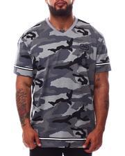 Ecko - Wrap & Roll V-Neck T-Shirt (B&T)-2629773