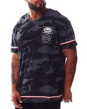 Ecko - Wrap & Roll V-Neck T-Shirt (B&T)-2629778