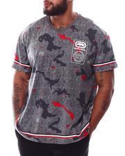 Ecko - Wrap & Roll V-Neck T-Shirt (B&T)-2629783