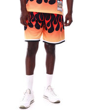 Athleisure - HOUSTON ROCKETS Flames Swingman Short-2627814