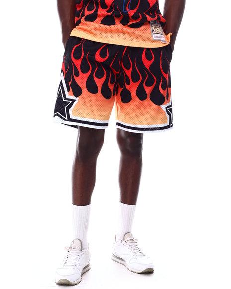 Mitchell & Ness - ORLANDO MAGIC Flames Swingman Short