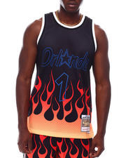 Athleisure - ORLANDO MAGIC Flames Swingman Jersey - Penny Hardaway-2628433
