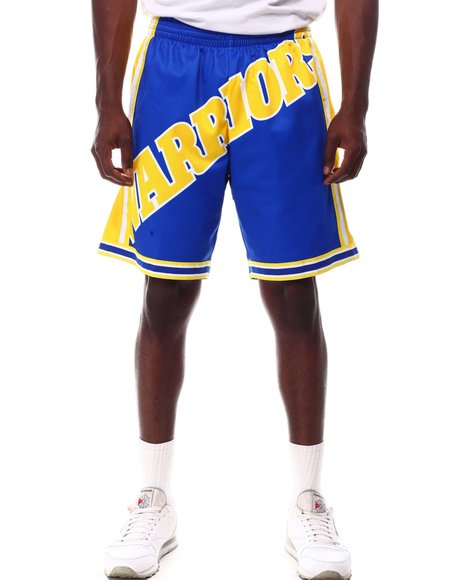 Mitchell & Ness - GOLDEN STATE WARRIORS Blown Out Fashion Shor
