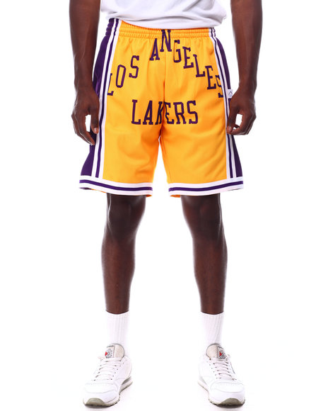 Mitchell & Ness - LOS ANGELES LAKERS Blown Out Fashion Short