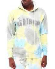 OUTRANK - Blue Cheese French Terry Tie Dye Hoodie-2628597