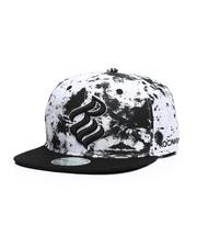 Hats - Sublimated Tie Dye Snapback Hat-2629439