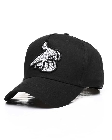 Crooks & Castles - Paisley Logo Air Gun Snapback Hat