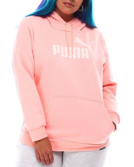 Puma - ESS Logo Hoodie(Plus)