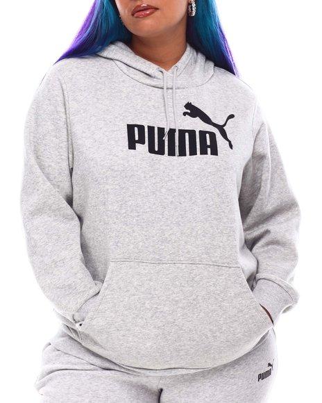 Puma - ESS Logo Hoodie FL(Plus)