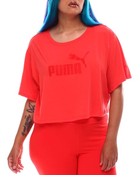 Puma - ESS Cropped Logo Tee(Plus)