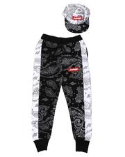 Sets - Savage Bandana Print Joggers & Snapback Hat Set (8-18)-2628171