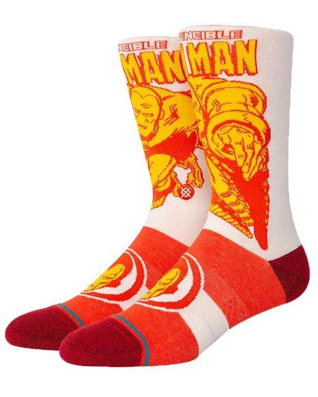 Stance Socks - Iron Man Marquee Socks