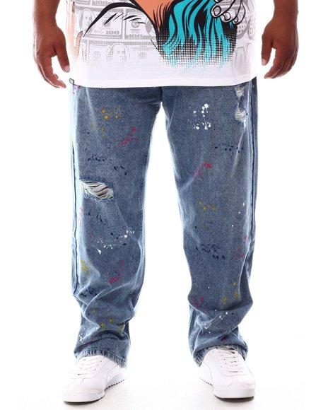 Akademiks - Splatter Print Jeans (B&T)