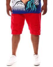 Makobi - Shredded Twill Shorts (B&T)-2631648