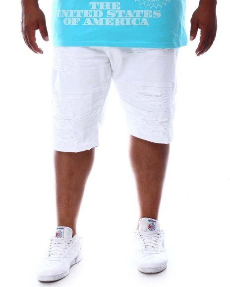 Makobi - Shredded Twill Shorts (B&T)