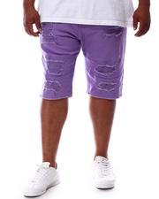 Makobi - Shredded Twill Shorts (B&T)-2631688