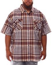 Button-downs - Plaid Woven Shirt (B&T)-2631916
