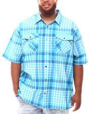 Button-downs - Plaid Woven Shirt (B&T)-2631957
