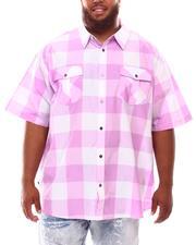 Button-downs - Yarn Dyed Plaid Woven Shirt (B&T)-2632031