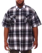 Button-downs - Plaid Woven Shirt (B&T)-2632179