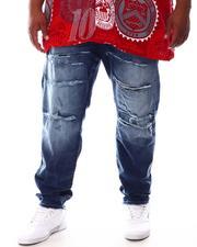 Buyers Picks - Ripped Knee Distressed Denim Jeans (B&T)-2631771