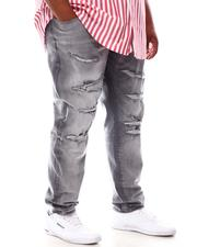 Buyers Picks - Ripped Knee Distressed Denim Jeans (B&T)-2631780