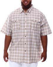 Button-downs - Plaid Woven Shirt (B&T)-2631823