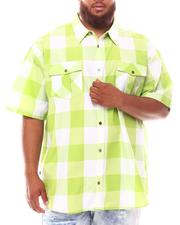 Button-downs - Yarn Dyed Plaid Woven Shirt (B&T)-2632008