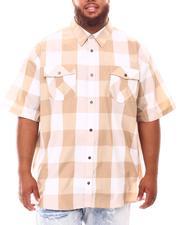 Button-downs - Yarn Dyed Plaid Woven Shirt (B&T)-2632023