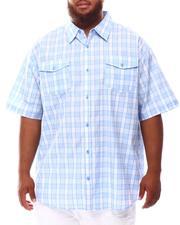 Button-downs - Plaid Woven Shirt (B&T)-2632173