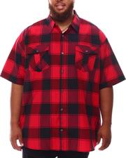 Buyers Picks - Plaid Woven Shirt (B&T)-2632199