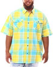 Button-downs - Plaid Woven Shirt (B&T)-2632211
