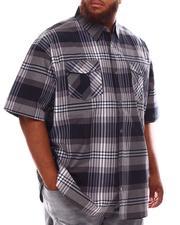 Button-downs - Plaid Woven Shirt (B&T)-2632391