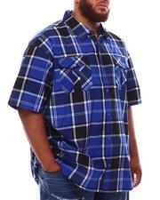 Button-downs - Plaid Woven Shirt (B&T)-2632399