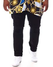 Makobi - Shredded Twill Jeans With Taping (B&T)-2631574