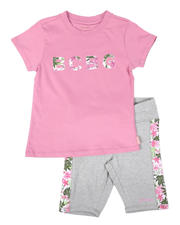 Girls - 2Pc Active Short Set (7-12)-2628116