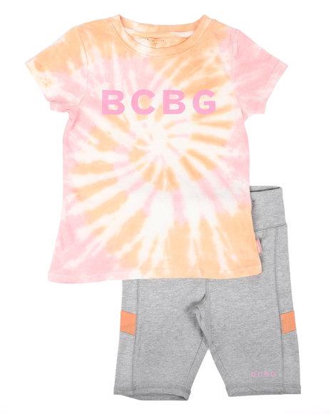 BCBGirls - 2Pc Active Short Set (7-12)