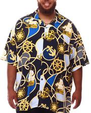 Buyers Picks - Voyage Pattern All Over Rayon Bowling Shirt (B&T)-2631785